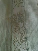 Тюль вензель серебрянный полоса, фото 1