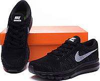 "Кроссовки мужские Nike Air Max Flyknit ""All Black"""