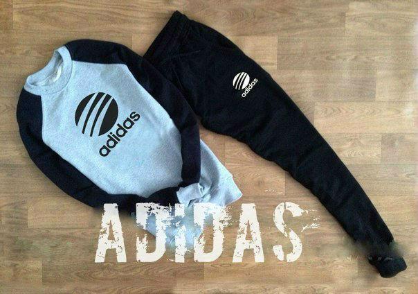 4ded1d86716d Спортивный костюм мужской adidas черно-белый - Спортивный магазин Kosas в  Харькове