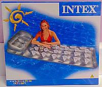 Пляжный надувной Матрас Серебристый 58894 Intex Китай