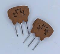 SFE-6.5MHz; (керамический фильтр - дискриминатор)