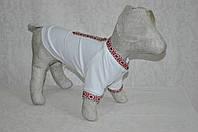 Футболка рубашка  для собак вышиванка