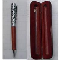 Набор подарочный 10829 Metal Ручка+Футляр (дерево+металл)