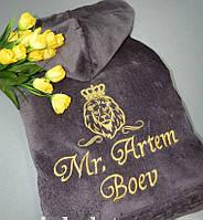 Домашний мужской халат «Король Лев»
