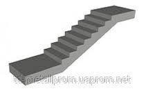 Лестничные марши железобетонные ЛМП 57-11-15.5 марши и площадки ЖБИ, ГОСТ, супер цена, размеры.