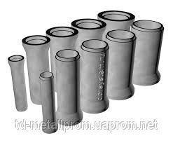 Трубы железобетонные безнапорные раструбные ТБ, Тс 100.50-2, d=1000 гост, труба жби у нас купить