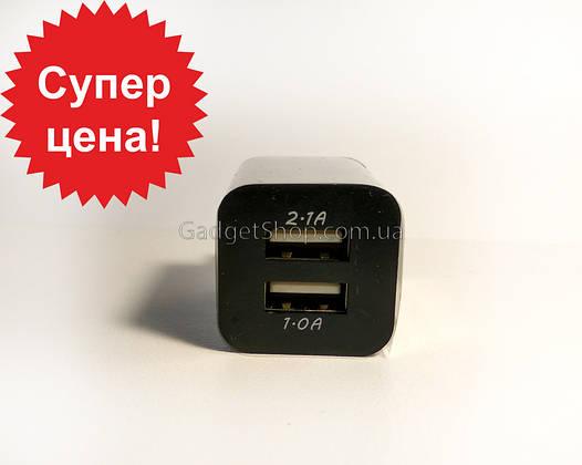 Зарядный блок модель B, 2 usb порта, зарядка, юсб
