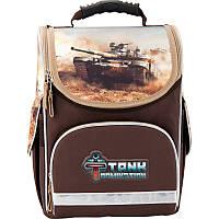 Рюкзак школьный каркасный (ранец) 501 Tank Domination TD17-501S Kite