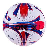 Мяч футбольный Ronex Joma4 бело-красный