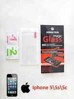 Защитное стекло для iPhone 5/5s/5c (стекло для экрана Айфон 5), фото 1