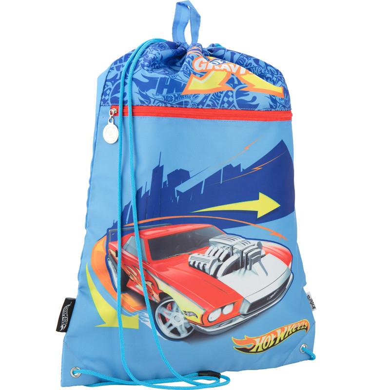 Сумка для обуви с карманом Kite Hot Wheels HW17-601M-1