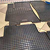 Ковры в салон резиновые Daewoo Lanos + (к-т 4 шт)
