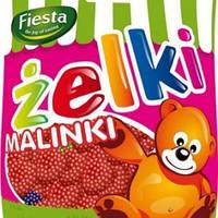 Желейные конфеты Zelki Fiesta малинки Польша 80г, фото 1