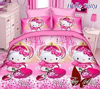 Детский полуторный комплект Hello Kitty(Хелло Китти)-7, ранфорс