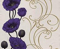 Обои бумажные Эксклюзив 049-05 фиолет