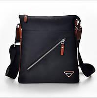 Чоловіча сумка чорна 209, фото 1