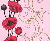 Обои бумажные Эксклюзив 049-04 розовый