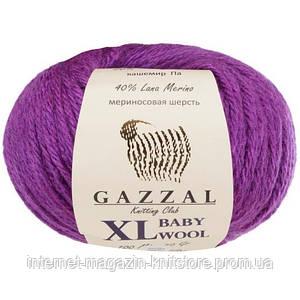 Пряжа Gazzal Baby Wool XL Фіолетовий