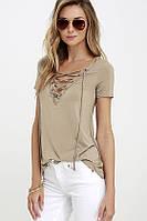 Стильная женская футболка СС7063
