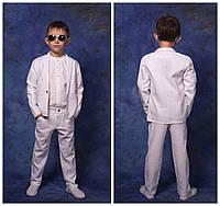 костюм Ткань итальянский лен, очень легкая , не плотная, шикарное качество.2 цвета евлад№218