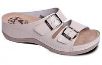 Обувь анатомическая - шлепанцы женские анатомические (бежевый, белый, розовый)