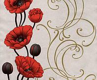 Обои бумажные Эксклюзив 049-09 серо-красный, фото 1