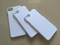Чехол 3D пластиковый белый iPhone 7 (глянцевый)
