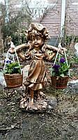 Фигуры для сада. Скульптура Девочка с коромыслом