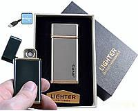 """Спиральная USB зажигалка """"Jinpg"""" №4786-1, модный гаджет, спираль накаливания, подарочная упаковка"""