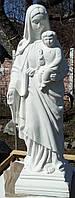 Статуя Богродица с младенцем № 2 высота 110 см, фото 1
