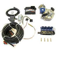 Комплект STAG-4 Q-BOX BASIC, ред. Alaska 120 л.с., ДТР, форс. Valtek тип 32, ф. 1-1