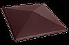Крышка столба Кармазиновый остров (07) клинкерная
