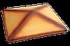 Крышка на забор Пустынная роза тонированная (11) клинкерная