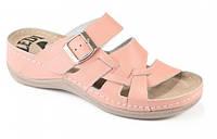 Обувь анатомическая - шлепанцы женские анатомические (св.розовый, салатовый, белый, красный)
