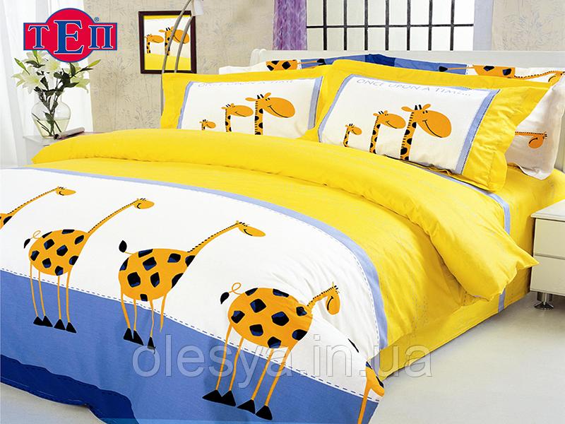 Комплект постельного белья  ТЕП 604 «Жирафы»