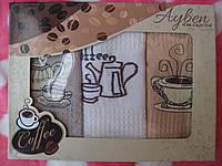 Набор вафельных полотенец для кухни Турция