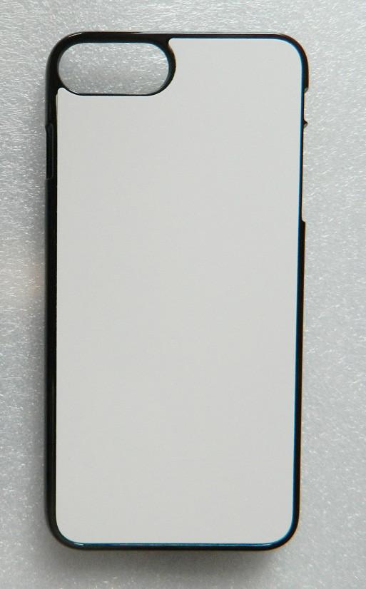 Чехол для сублимации 2D iPhone 7+/8+ пластик (черный)
