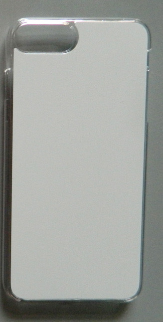 Чехол для сублимации 2D iPhone 7+/8+ пластик (прозрачный)