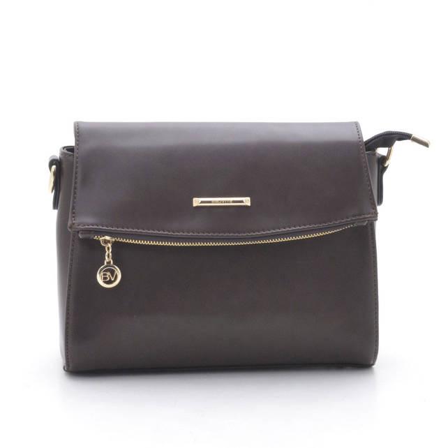 Женская сумка-клатч 90087-2 коричневая