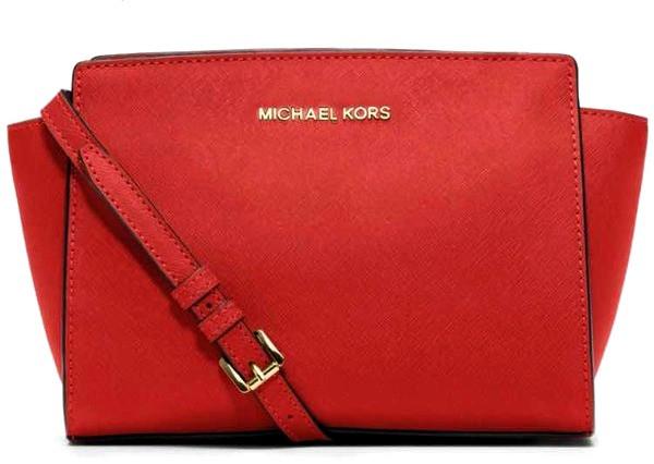 Сумка женская в стиле MK Michael Kors Selma | Красная