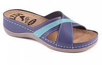 Обувь анатомическая - шлепанцы женские анатомические (белый, св.розовый, фиолетовый)