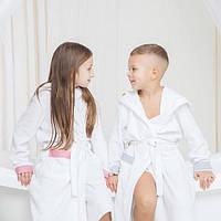 Детские махровые халаты со скидкой до 30 апреля!