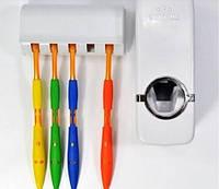 Дозатор для Зубной Пасты + Держатель на 5 Щеток KX-889