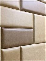Плитка в ткани, Мягкие стеновые панели, панели в ткани, панели в коже на заказ Одессе
