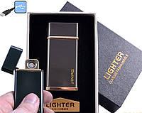 """Спиральная USB зажигалка """"Jinpg"""" №4786-3, спираль накаливания, подарочная упаковка, стильный гаджет"""