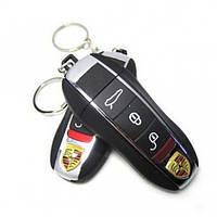USB Зажигалка в Виде Ключа + Фонарик Porsche, фото 1