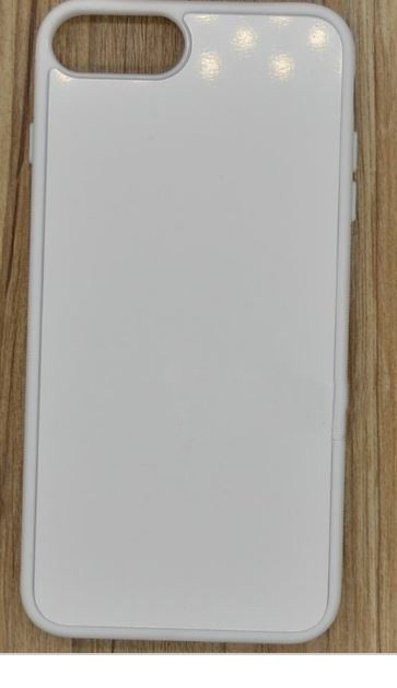 Чехол для сублимации 2D iPhone 7/8 TPU (белый)