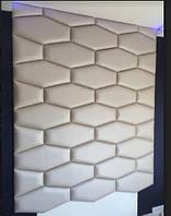 Мягкие панели стеновые, плитка в ткани, панели в ткани, панели в коже на заказ Одессе