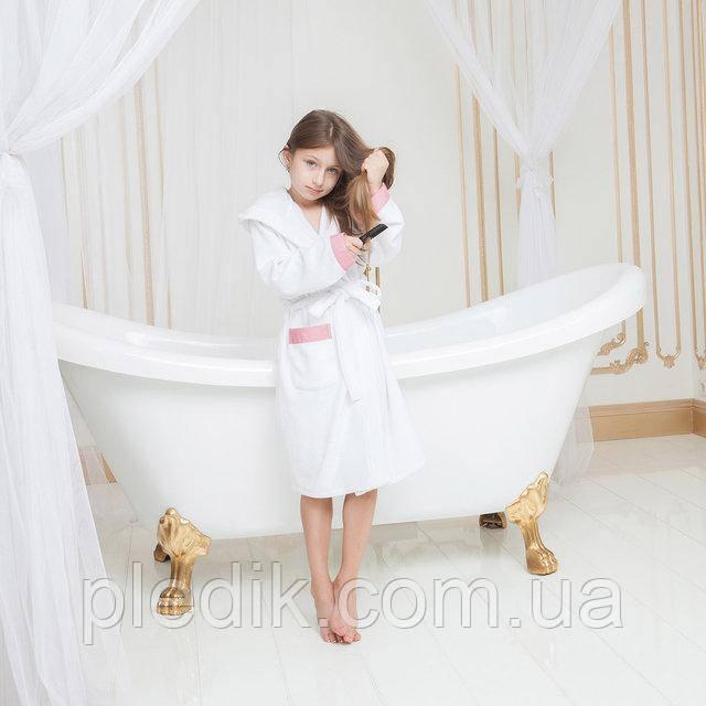 Махровый халатик для девочки