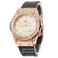 Hublot Big Bang Crystal Women Black-Gold-White